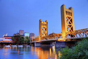 Sacramento California Bridge