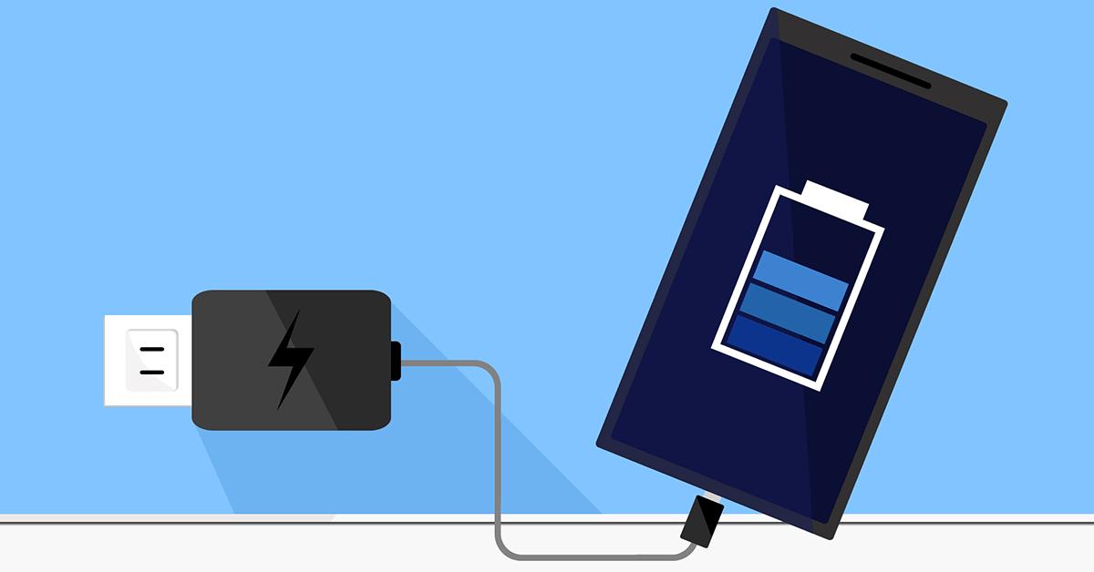 smart phone battery life image